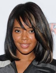 layered hairstyles with bangs for african americans that hairs thinning out 25 medium hairstyles for girls with straight hair straight