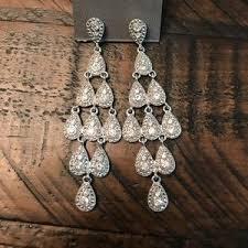 Cascading Bead Chandelier Earrings Express Women U0027s Express Chandelier Earrings On Poshmark