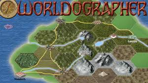 Final Fantasy 2 World Map by Worldographer Hexographer 2 Easy Map World Creator By Inkwell