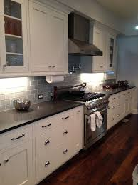 painted white maple amish cabinets of denver