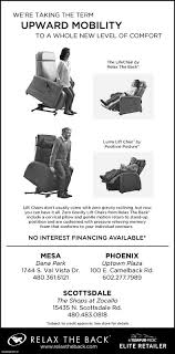 Relax The Back Lift Chair Arizona Republic Az Business Directory Coupons