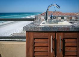Outdoor Kitchen Cabinets Youtube by Naturekast Pvc Outdoor Cabinets Affordable Outdoor Kitchens