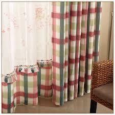 plaid curtains for living room u2013 home decoration