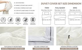 amazon com duvet cover set with zipper closure solid vintage