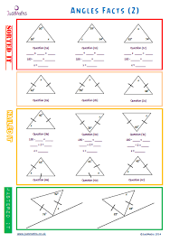 angle facts gcse maths gcse revision lesson planning maths