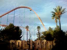 Viper Roller Coaster Six Flags Goliath Six Flags Magic Mountain Wikiwand