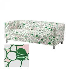 Green Sofa Slipcover by Ikea Klippan Sofa Slipcover Cover Green Pink Mod Retro Marrehill