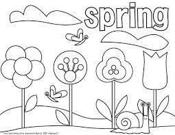 picture springtime coloring download u0026 print