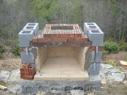 Building Outdoor Fireplace With Cinder Blocks by Incredible Decoration Building Outdoor Fireplace Beauteous Diy