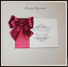 Order Wedding Invitations Online Buy Wedding Invitation With Bow