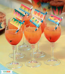 cocktail party decorations how to make ombre drinks pixiebear party printables