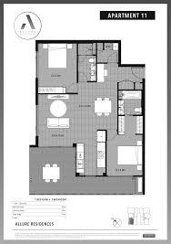 Floor Plans Brisbane Allure Residences Mt Gravatt Apartments Property Mash