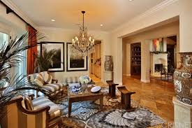living room in mansion sold the toni braxton house in calabasas celebrity trulia blog