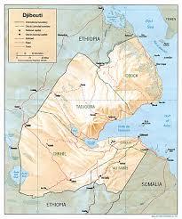 Africa Regions Map by Djibouti Africa Region Map Djibouti Africa U2022 Mappery