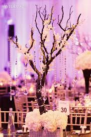 Cherry Blossom Tree Centerpiece by Glamorous Vintage Wedding Centerpiece Maznita Branch With Hanging