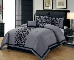 Tribal Pattern Comforter Bedroom Grey Comforter Sets Queen Trendy Warm Bed Blanket For