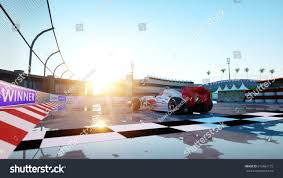 racer formula 1 racing car race stock illustration 615661175
