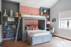 Two Floor Bed Delighful Kids Bedrooms With Bunk Beds For Room Design Ideas Nice