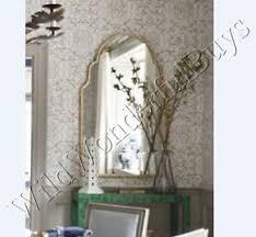 arched wall mirror silver champagne metal arch tuscan bathroom