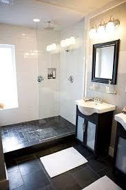 Bathroom Floor Tile Ideas Best 25 Slate Bathroom Ideas On Pinterest Charcoal Bathroom