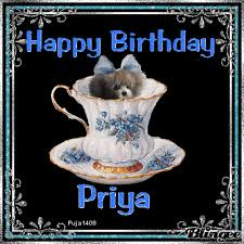 happy birthday priya animated picture codes and downloads
