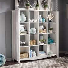 16 cube bookcase unit helix contemporary bookcase or shelving unit in white high price