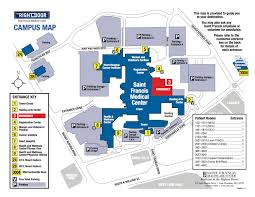 hospital map driving directions saint francis medical center