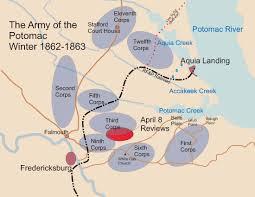 Fredericksburg Va Map Stafford U0027s Big Day The Lincoln Review Of April 8 1863 U2013where It