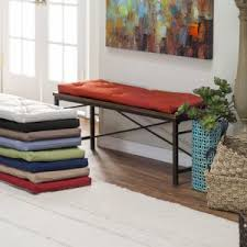 Piano Bench Pad Bench Cushions On Hayneedle Indoor Outdoor Bench Cushions