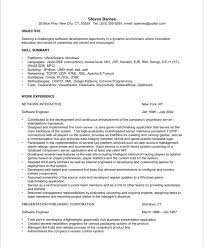 resume software engineer sample amitdhull co