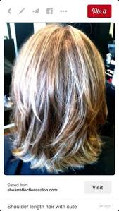 medium length hair with lots of layers shoulder length layered hairstyles medium length layered