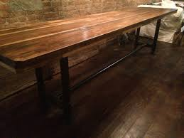 buy a hand made industrial reclaimed scaffolding planks dining