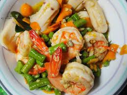 cap cuisine 1 an ก ง ปลาหม ก ผ ดพร กเหล อง อร อยด ค ะ ร าน คร วอ ปษร สาขา 1 ท า