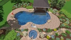 Inground Pool Landscaping Ideas Inground Pool Landscaping Ideas