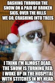Over The Hill Meme - grumpy cat christmas meme imgflip