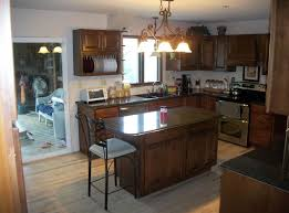 lights for island kitchen kitchen small wooden kitchen island with seating featuring