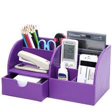 Purple Desk Organizers Purple Desk Accessories Accessory Set Voicesofimani