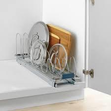 Cabinet Door Pot Lid Organizer Buy Lid Organizer Kitchen From Bed Bath U0026 Beyond