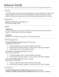 Free Resume For Freshers Resume Template 9 Best Free Templates Download For Freshers