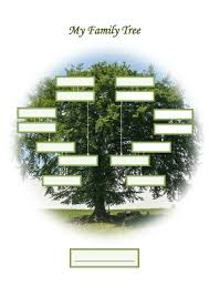 40 free family tree templates word excel pdf template lab