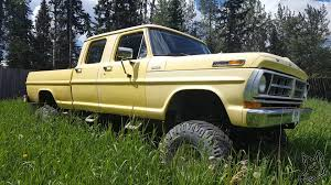 Classic Ford Truck Tires - old ford 1972 f250 crew cab lifted part 1 youtube