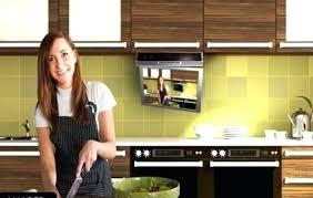 kitchen televisions under cabinet under cabinet kitchen televisions kitchen mount under cabinet