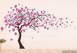 Cherry Blossom Tree Wall Decal For Nursery Popdecors Cherry Blossom Tree 83inch H Beautiful