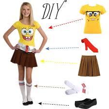 Cute Costume Idea For Teen Girls Halloween Costumes Pinterest Best 25 Spongebob Halloween Costume Ideas On Pinterest