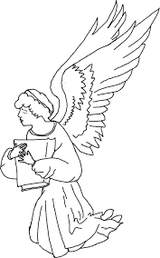 christmas angel coloring page perfect related coloring pagessmall