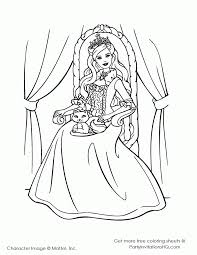 barbie coloring pages fashion kids coloring