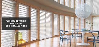 window covering installations in huntington beach windows decor