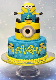 minion birthday cakes 1st birthday archives d cake creations