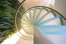 spiral stairs glass tse 636 glass stairs from eestairs architonic