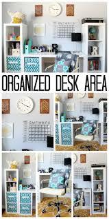 best ideas about teen room organization pinterest organized desk area for teen room